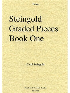 Carol Steingold: Steingold Graded Pieces Book One (Piano) Books | Piano