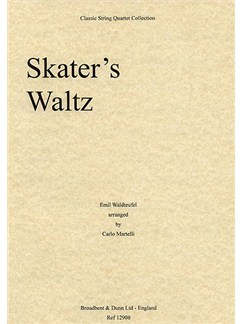Emile Waldteufel: Skater's Waltz (String Quartet) - Parts Books | String Quartet