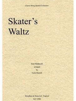 Emile Waldteufel: Skater's Waltz (String Quartet) - Score Books | String Quartet