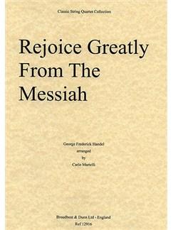 George Frideric Handel: Rejoice Greatly From Messiah (String Quartet) - Parts Books | String Quartet