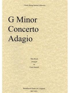 Max Bruch: Adagio From Concerto In G Minor (String Quartet) - Parts Books | String Quartet