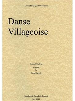Emmanuel Chabrier: Danse Villageoise (String Quartet) - Score Books | String Quartet