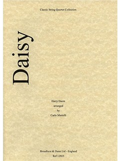 Harry Dacre: Daisy (String Quartet) - Parts Books | String Quartet