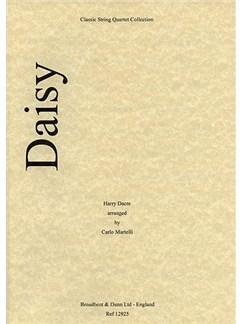 Harry Dacre: Daisy (String Quartet) - Score Books | String Quartet