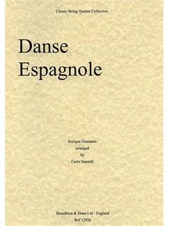 Enrique Granados: Danse Espagnole (String Quartet) - Parts Books | String Quartet