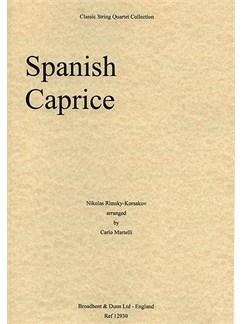 Nikolai Rimsky-Korsakov: Spanish Caprice (String Quartet) - Parts Books | String Quartet