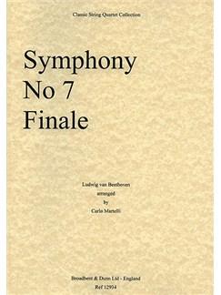 Ludwig Van Beethoven: Symphony No.7 Finale (String Quartet) - Parts Books | String Quartet
