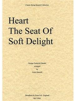 George Frideric Handel: Heart The Seat Of Soft Delight (String Quartet) - Parts Books | String Quartet