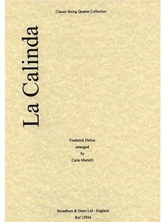 Frederick Delius: La Calinda (String Quartet) - Parts Books | String Quartet
