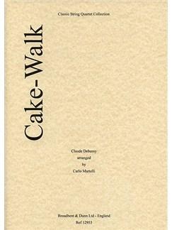 Claude Debussy: Cake-Walk (String Quartet) - Parts Books | String Quartet