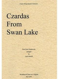 Pyotr Ilyich Tchaikovsky: Czardas (Swan Lake) - String Quartet Parts Books | String Quartet