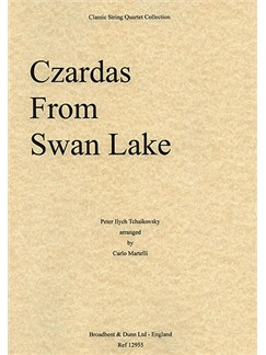 Tchaikovsky: Czardas (Swan Lake) - String Quartet Score Books | String Quartet