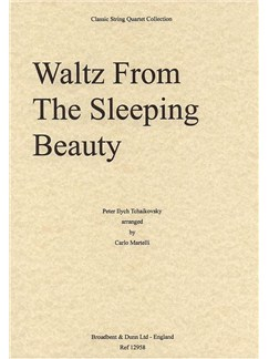P.I. Tchaikovksky: Waltz From Sleeping Beauty (String Quartet) - Score Books | String Quartet