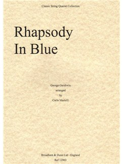 George Gershwin: Rhapsody In Blue (Score) Books | String Quartet