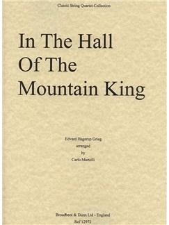 Edvard Grieg: Hall Mountain King String Quartet (Parts) Books   String Quartet