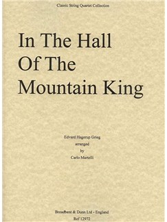 Edvard Grieg: Hall Of The Mountain King (String Quartet Score) Books | String Quartet