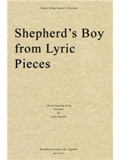 Edvard Grieg: Shepherd's Boy (Lyric Pieces) - String Quartet Score Books | String Quartet