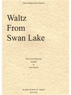 Pyotr Ilyich Tchaikovsky: Waltz from Swan Lake (Score) Books | String Quartet