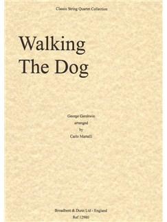 George Gershwin: Walking The Dog - String Quartet (Score) Books   String Quartet
