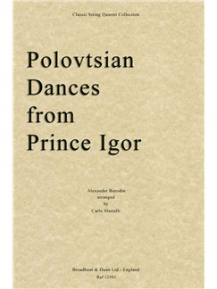 Alexander Borodin: Polovtsian Dances (Prince Igor) - String Quartet Parts Books | String Quartet