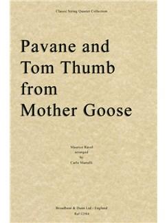 Maurice Ravel: Pavane/Tom Thumb (Mother Goose) - String Quartet Score Books | String Quartet