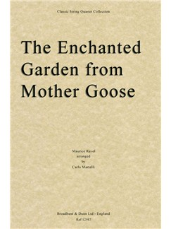 The Enchanted Garden From Mother Goose (Full Score) Books | String Quartet