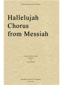 G.F. Handel: Hallelujah Chorus (Messiah) - String Quartet Parts Books | String Quartet