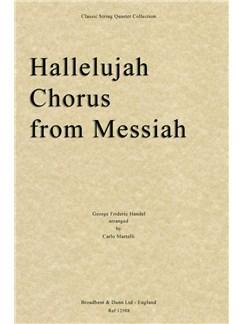 G.F. Handel: Hallelujah Chorus (Messiah) - String Quartet Score Books | String Quartet