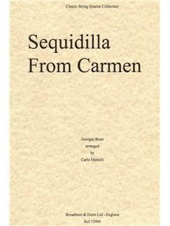 Georges Bizet: Sequidilla from Carmen (Parts) Books | String Quartet