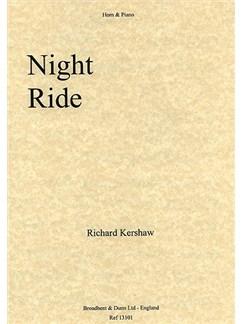 Richard Kershaw: Night Ride Books | Horn, Piano Accompaniment