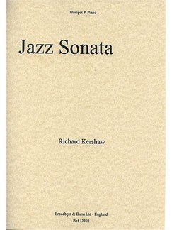Richard Kershaw: Jazz Sonata For Trumpet And Piano Books | Trumpet, Piano Accompaniment