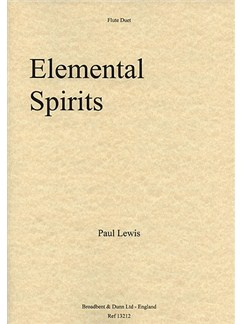 Paul Lewis: Elemental Spirits Books | Flute (Duet)