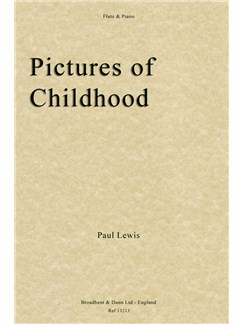 Paul Lewis: Pictures Of Childhood Books | Flute, Piano Accompaniment