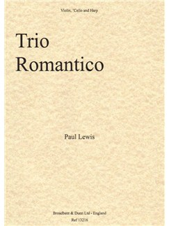 Paul Lewis: Trio Romantico Books | Violin, Cello, Harp