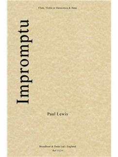 Paul Lewis: Impromptu (Flute, Violin, or Harmonica and Harp) Books | Flute, Violin, Harmonica, Harp