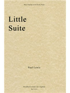 Paul Lewis: Little Suite (Bass Clarinet In B Flat/Piano) Books | Bass Clarinet, Piano Accompaniment