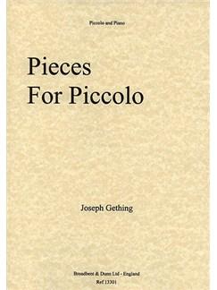 Joseph Gething: Pieces For Piccolo Books | Piccolo, Piano Accompaniment