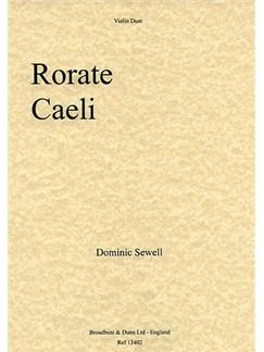 Dominic Sewell: Rorate Caeli (Violin Duet) Books | Violin (Duet)