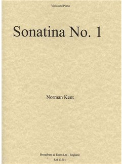 Norman Kent: Sonatina No.1 For Viola And Piano Books | Viola, Piano Accompaniment