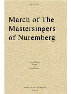 Richard Wagner: March of The Mastersingers of Nuremberg (Brass Quintet) Books | Brass Quintet