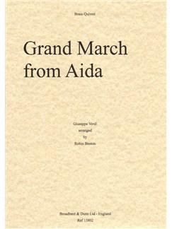 Giuseppe Verdi: Grand March from Aida - Brass Quintet (Score/Parts) Books | Brass Quintet