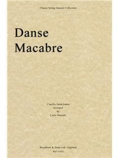 Camille Saint-Saëns: Danse Macabre (String Quartet Parts) Books | String Quartet