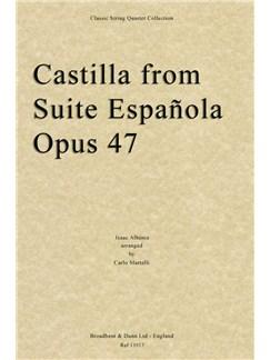 Castilla From Suite Española, Opus 47 (Parts) Books | String Quartet