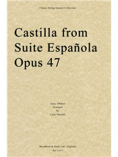 Castilla From Suite Española, Opus 48 (Full Score) Books | String Quartet