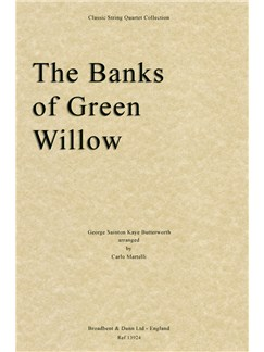 George Butterworth: The Banks Of Green Willow (String Quartet Score) Books | String Quartet