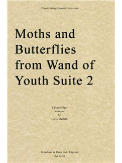 Moths And Butterflies from Wand Of Youth Suite Two (Score) Books | String Quartet