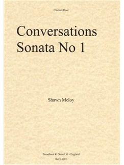 Shawn Meloy: Conversations, Sonata No.1 (Clarinet Duet) Books | Clarinet (Duet)