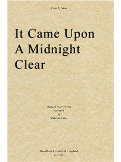 Richard Storrs Willis: It Came Upon A Midnight Clear (Flute/Piano) Books | Flute, Piano Accompaniment
