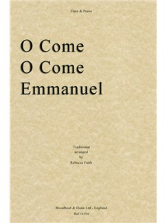O Come, O Come Emmanuel (Flute/Piano) Books | Flute, Piano Accompaniment
