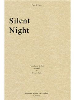 Franz Gruber: Silent Night (Flute/Piano) Books | Flute, Piano Accompaniment